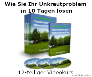 Wie Sie Ihr Unkrautproblem in 10 Tagen lösen